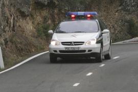 Fallece un motorista de 16 años en una colisión frontal contra un camión en la carretera de la Serra