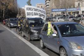 La marcha motorizada ha transcurrido por las calles de Palma