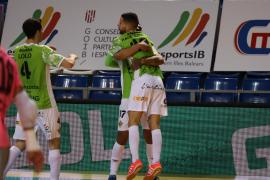 El Palma Futsal sufre pero mantiene el liderato en el arranque de la segunda vuelta