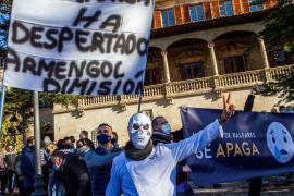 La Resistencia balear da un ultimátum al Govern y anuncia otra manifestación