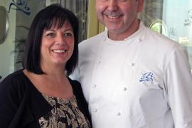 Benet Vicens y Cati Cifre, del restaurante Bens d'Avall en Mallorca