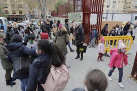 Casos de COVID en los colegios de Baleares