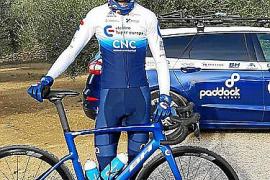 Mateu Estelrich debuta como ciclista profesional en Valencia