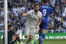 El defensa del Real Madrid Nacho Fernández, positivo por coronavirus