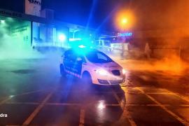Un detenido y dos mossos heridos tras un ataque con piedras en Barcelona