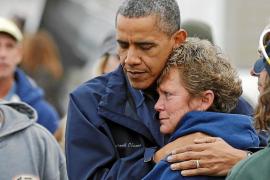 Obama impulsa su reelección visitando la 'zona cero' de «Sandy»