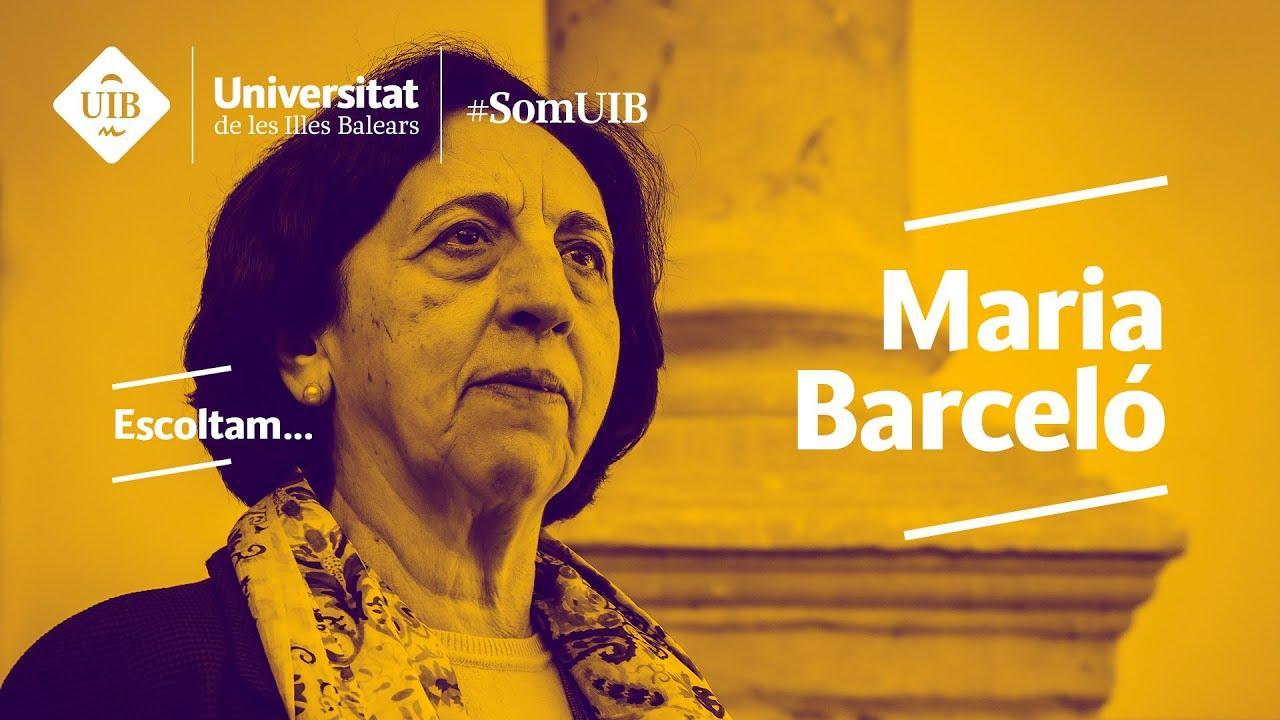 Maria Barceló, una pionera mujer de ciencia