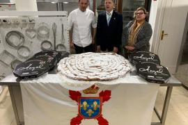 La Hermandad Monárquica regalará una ensaimada de un metro de diámetro al rey Felipe VI por su cumpleaños
