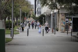 Arquitecte Bennàssar y el Polígon de Llevant lideran los contagios por habitante en Palma