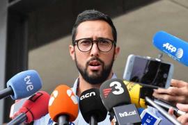 La reacción de Valtonyc al inminente ingreso en prisión de Hasel