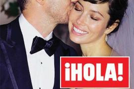 """Jessica Biel y Justin Timberlake se dan el """"sí quiero"""""""