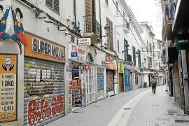 Las ventas del comercio minorista se desplomaron un 14,6% en Baleares en 2020