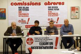 Los sindicatos censuran que el Consell cierre parques de bomberos dejando zonas sin cobertura