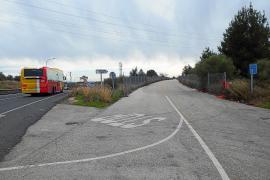 El Consell cede a Inca la carretera vieja de Sineu para crear aparcamientos disuasorios