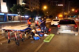 Indemnizan con más de un millón de euros a un motorista arrollado en Avingudes