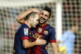 Un Barça de récord, pero sin gol para Thiago Messi