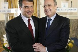 Laporta: «Es un golpe moral  importante para el Real Madrid»