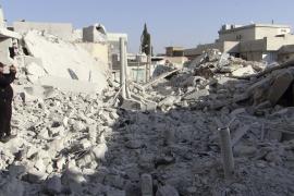 Los rebeldes sirios atacan un aeropuerto militar