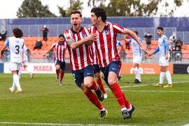 El Atlético B frena en seco al Atlético Baleares