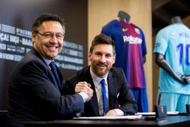 Messi habría cobrado 555.237.619 euros desde su renovación en 2017