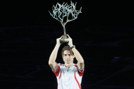 David Ferrer gana su primer Masters 1.000 en París