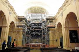 El presbiterio del Santuari de Sant Salvador recupera todo su esplendor
