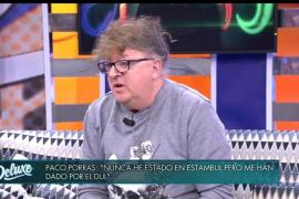 Paco Porras vuelve a televisión tras su desaparición y asegura que le retuvieron y drogaron para ejercer la prostitución