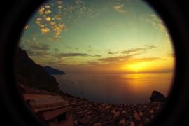 Posta de sol a Deià