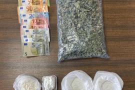La policía intercepta un coche en Son Gotleu con 150 gramos de cocaína