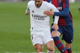 Hazard sufre una nueva lesión muscular