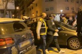 Detenido el hermano menor de edad de 'El Ove' por la agresión a policías en Son Banya