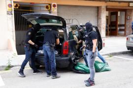 Ingresan en prisión dos importantes narcos por distribuir droga en Mallorca