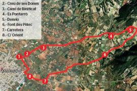 Font des Pèlec: por los caminos de Binificat y Es Pontarró
