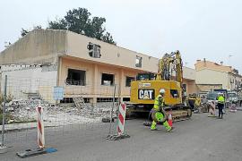 Sant Llorenç derriba el taller de bordados en zona inundable