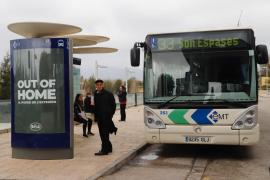 Si vas en bus a Son Espases lleva la tarjeta ciudadana cargada