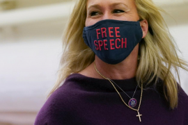La Cámara de Representantes expulsa a la 'conspiranoica' Greene de los comités