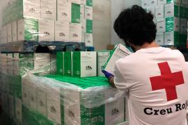 Cruz Roja distribuirá 306.043 kilos de alimentos a 15.143 personas de Baleares durante los próximos meses