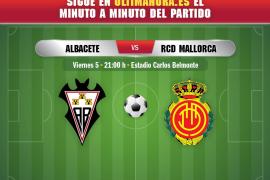 Así ha sido el encuentro entre el Albacete y el Real Mallorca