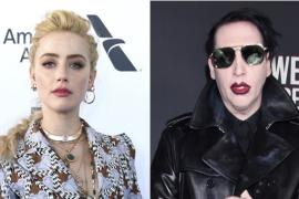 Amber Heard apoya a Evan Rachel Wood en sus acusaciones de abuso contra Marilyn Manson