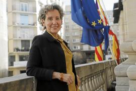 Aina Calvo, delegada del Gobierno en Baleares: «Una manifestación se disuelve por la fuerza y eso es lo que hay que evitar»