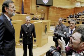 Rajoy rechaza hablar de «brotes verdes» pero ve mejoría y crecimiento en 2014