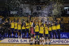 El Urbia U Energía Voley Palma pierde la final de la Copa del Rey