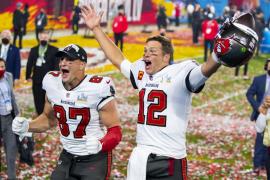 El mundo se rinde ante Tom Brady en la Super Bowl