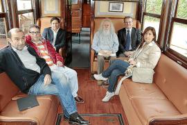 El Solstici d'Estiu celebra el siglo de vida del Tren de Sóller en Can Prunera