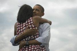 Obama agradece su reelección  a través de Twitter