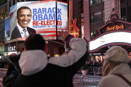 Obama, reelegido presidente