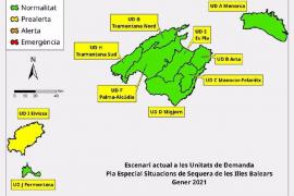 Las reservas hídricas de Baleares se mantienen en el 62% en enero