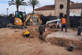 La excavación de la fosa de Porreres encara su segunda fase