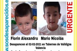 Buscan a dos niños, de 5 y 6 años, desaparecidos hace una semana en Valencia
