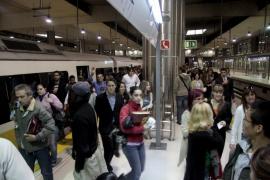 Huelga de tren y metro en Mallorca